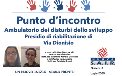 Punto d'incontro – La Newsletter dell'Ambulatorio di via Dionisio. Num. 3