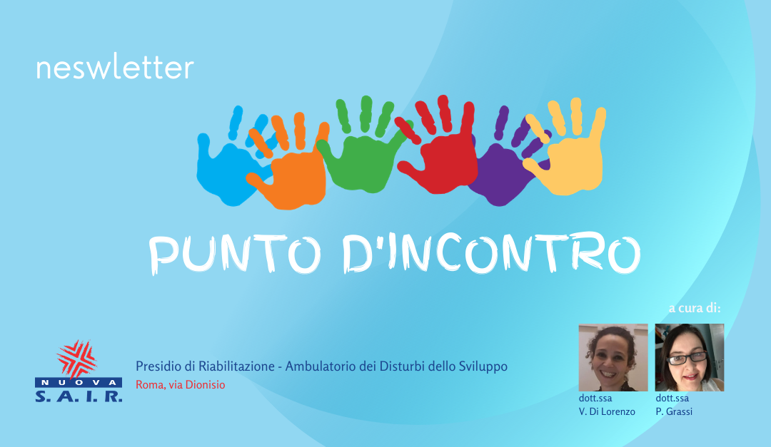 Punto d'incontro – La Newsletter dell'Ambulatorio di via Dionisio. Num. 4